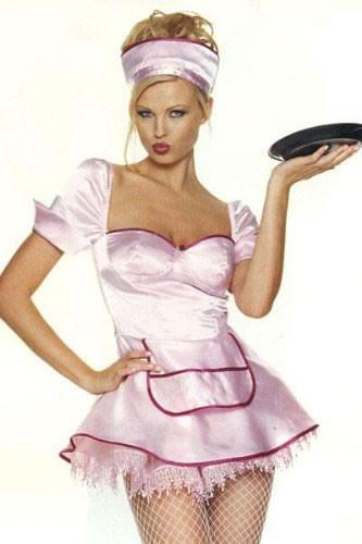 Diner girl costume