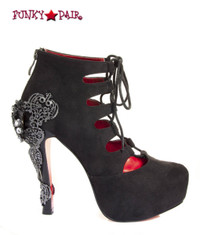 SteamPunk Victorian Lace up Boots (Royale)