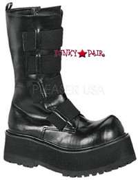 COMBAT-208, Punk Combat boots Made by Demonia