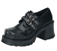 Two Buckle Punk Shoes Made by Demonia