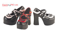 womens mary jane shoe Made by Demonia