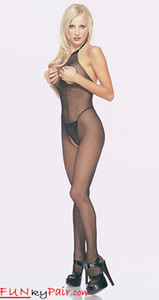 Cut Out Bust Bodystocking * 8350