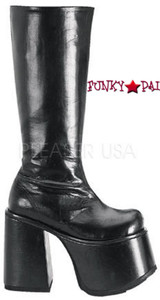 knee high gothic boots (CHOPPER-100)