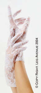 G1280, Wrist Length Lace Gloves