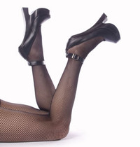 FEMME-12BL, 8 Inch high heel fetish shoes Made By Devious