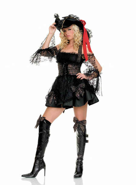 Women's pirate costume (83226)