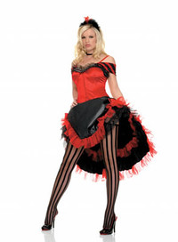 Moulin Dancer Costume