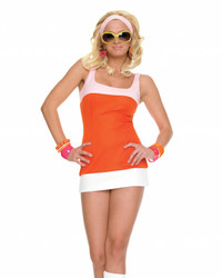 Sexy Mod Girl Costume