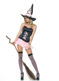 Pinky Witch Costume (83233)
