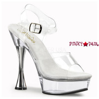 SWEET-408, Ankle Strap Cone Heel
