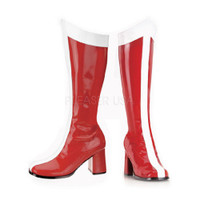 GOGO-305, 3 Inch Heel Wonder Woman Knee High Boot * Made by FUNTASMA
