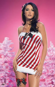 Santa Lingerie Mini Dress * 83270