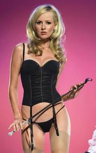 Black Lingerie Bustier Set * 31007