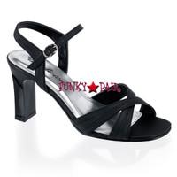 ROMANCE-313,  Ankle Strap Shoes Made