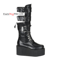 CREEPER-810, creepers Women gothic boots Mady By Demonia