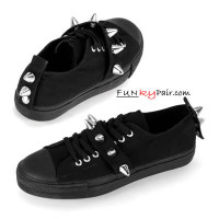 DEVIANT-04 * Canvas Spike Sneaker Made by Demonia