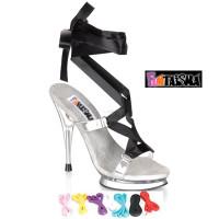 FAIRY-08, 5 Inch High Heel Sexy Fairy Platform Sandal