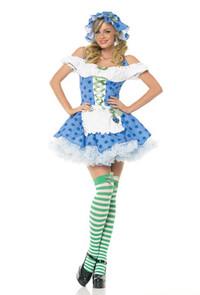 Blueberry Girl Costume