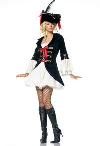 Captain Girl Swashbuckler Costume (83283)