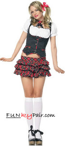 Little Miss Naughty School Girl Costume