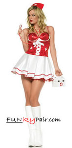Nurse Check Up Costume
