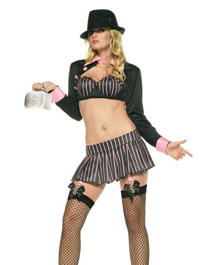 Mafia Girl Costume