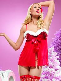 Christmas Babydoll Lingerie * 31030