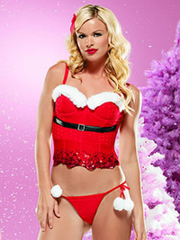 Christmas Bustier * 31029