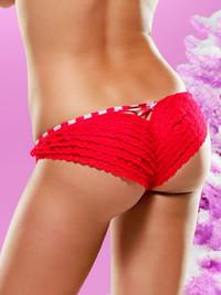 31032, Christmas Lace Panty