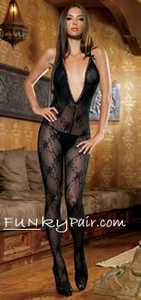 Boudoir Rose Bodystocking * 89029