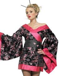 83460 Sexy Geisha Girl