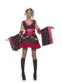 Goth Geisha Costume