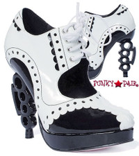 LA550-MAFIA, 4 Inch High Heel Gangster Shoes Made By LEG AVENUE Costume Shoes