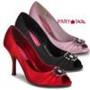 VIOLETTE-06, 3.5 Inch Heel Peep Toe Pump Made By Bordello