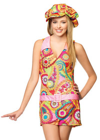Groovy Hippie Girl