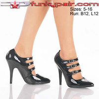 Seduce-453, 5 Inch High Heel with multi strap