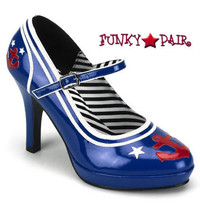 4 Inch Sailor Maryjane Shoes