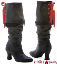 2.5 Inch Heel Knee High Boot * 253-Morgan