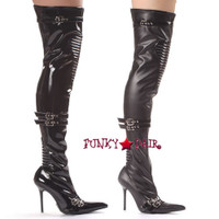 408-Nadia, 4 Inch Thigh High Boot * 408-Nadia * Made by ELLIE Shoes