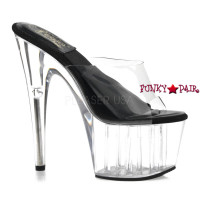 SOL-701-O, 7 Inch High Heel with 2.75 Inch Platform Springolator Shoes