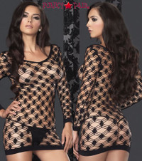 Hardcore Net Mini Dress * 86327