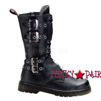 Disorder-302, boots with steel plate panel