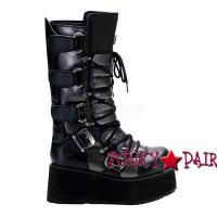 Trashville-519, Punk Goth Demonia Gothic  Boots