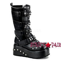 Truck-200, Gothic Boots with Pyramid Studs