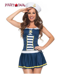 M8027, Pin Up Sailor costume includes a dress and hat