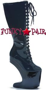BP579-Sarah, 5.5 Inch High Heel Knee High Boot