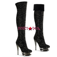 Fascinate-3010, 6 Inch Stiletto Heel Thigh High Boot