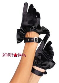 2028, Crop Satin Ruffle Glove