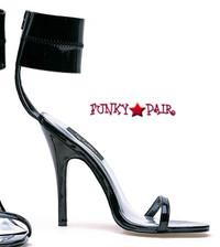 510-Sabina, 5 Inch High Heel Ankle Wrap Shoe