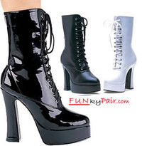 557-Dolly, 5.5 Inch high heel boots sz 6-14 * Made by ELLIE Shoes